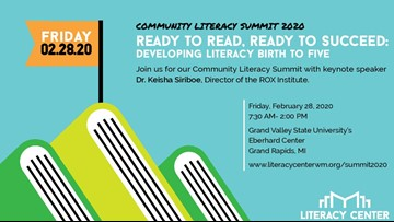 Literacy summit coming to Grand Rapids to help children succeed in reading