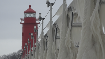 'Looking to finish the job' | Grand Haven to repair lighthouses, complete work on south pier