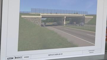 100th Street bridge construction starts