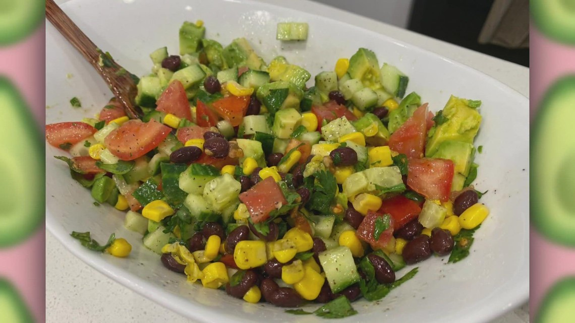 Healthy and colorful Labor Day side dish is a crowd pleaser