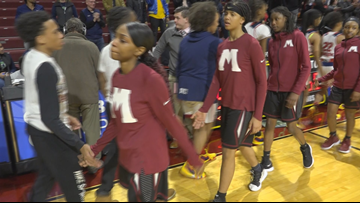 Muskegon Big Reds' comeback falls short in 54-50 semifinal loss to Southfield A&T