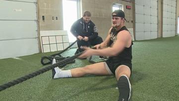 Grand Rapids native, former MSU star prepares for NFL Combine