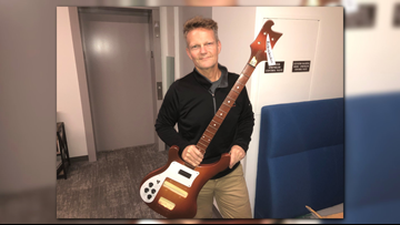 PLAY IT AGAIN: Stolen guitar survives California wildfires, reunites with Michigan musician