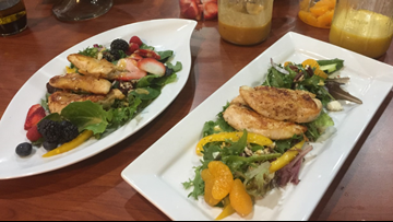 Better Bites: Chef Char's Spring Salad with a Variety of Vinaigrettes