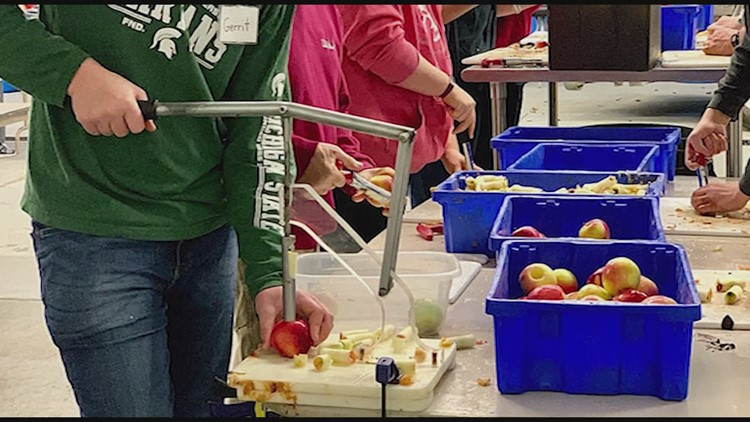 Organization helps the hungry overseas
