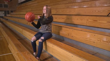 Ella Adams Explains How She Shoots with One Hand.