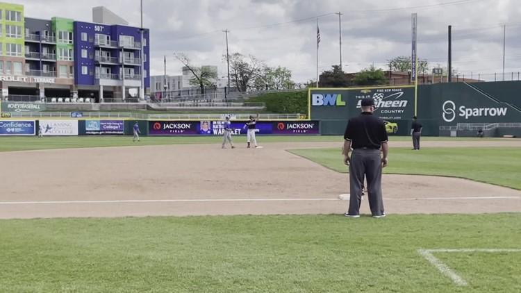 Davenport baseball wins first GLIAC title