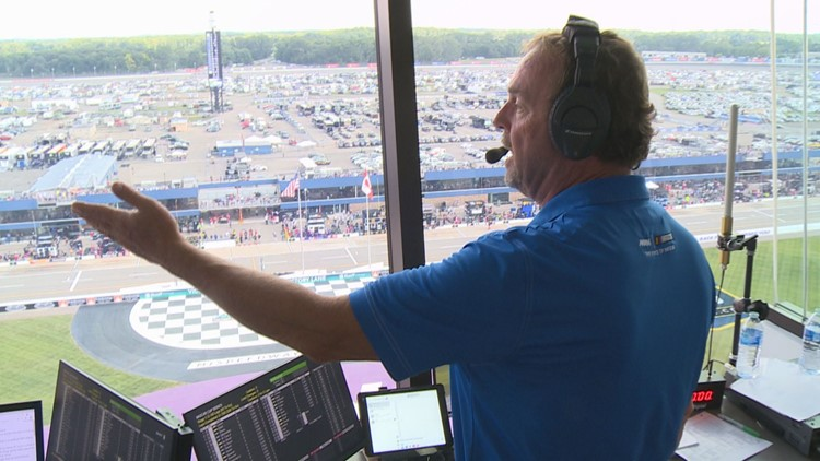 Behind the scenes of a NASCAR radio broadcast with Wyoming native Jeff Striegle, racing's voice