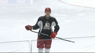 Struggling Griffins look to clinch playoff spot
