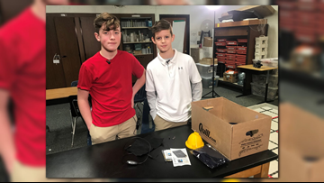 Michigan sixth graders receive national attention after their invention wins statewide contest