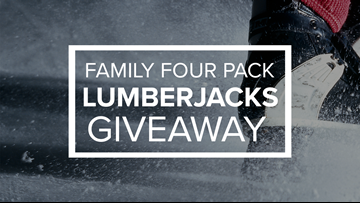 CONTEST COMPLETE - Enter to win four tickets to the Lumberjacks on February 7th!