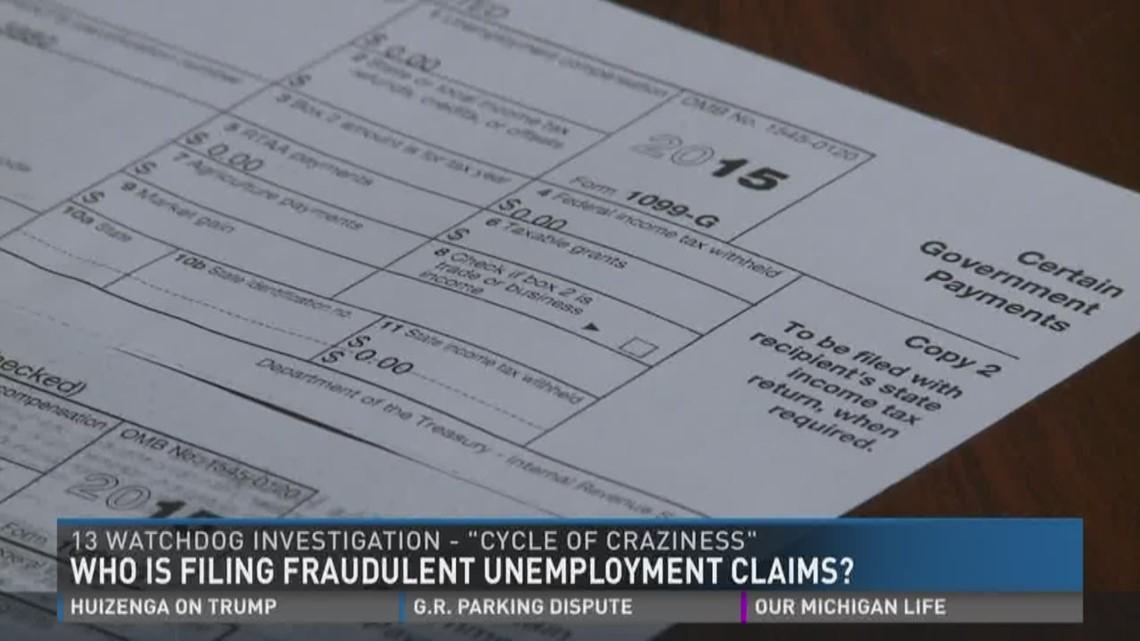 Fraudulent Unemployment Claims Wzzm13com