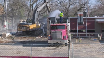Former Muskegon Hts. school removed for housing