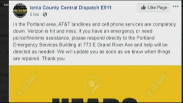 AT&T phone services down in Portland area, deputies say