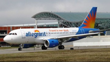 Allegiant adds 2 new nonstop flights from Ford Airport