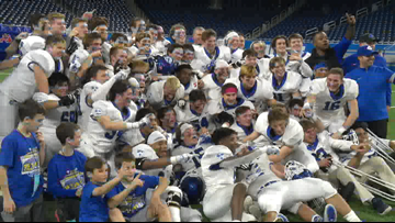 Grand Rapids Catholic Central football wins 5th state title