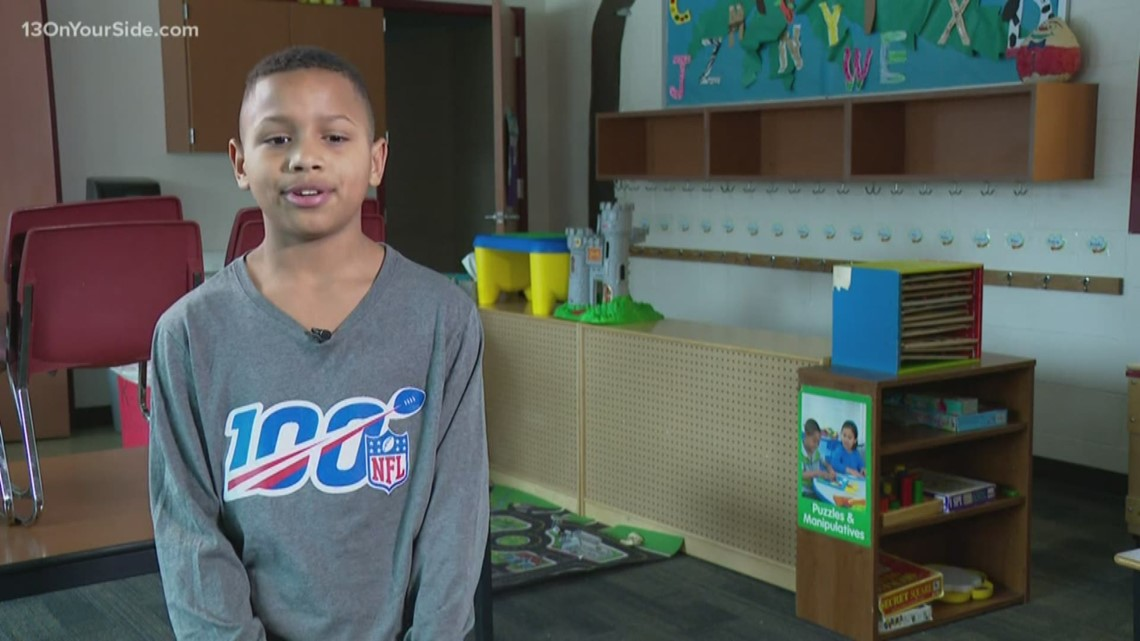 Grand Rapids boy wins tickets to Super Bowl