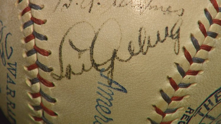 One of the most prominent signatures on the baseball will likely be the reason it sells for big bucks on the secondary market. The Lou Gehrig autograph has been graded a 9 out of 10.