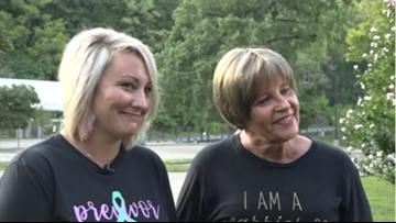 13 Friends for Life Day: Mother and daughter share breast cancer message ahead of new awareness walk