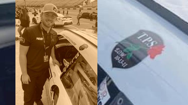 One Good Thing: NASCAR driver honors Walker police officer Trevor Slot