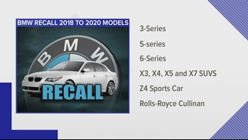 BMW recalls cars, SUVs to fix backup camera display problem
