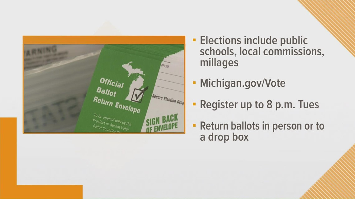 Local Michigan elections to take place Tuesday