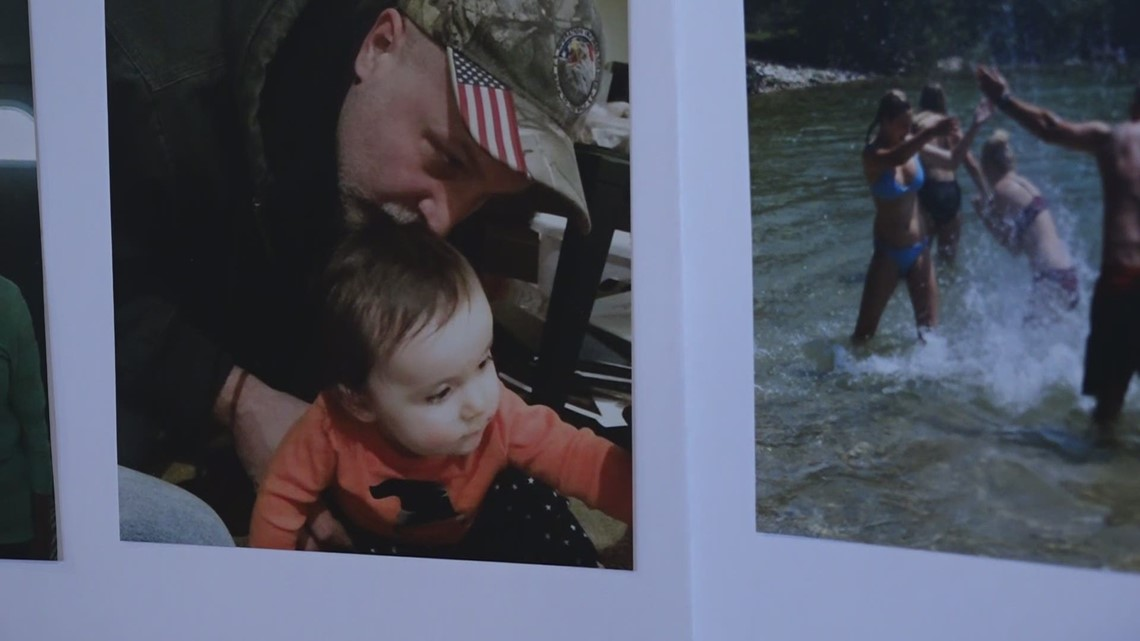 Jenison neighbors support family after loss of a loved one due to COVID-19