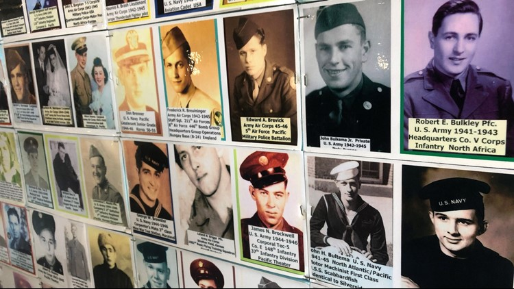 Wall of Honor: Photo collection pays tribute to Muskegon WWII veterans