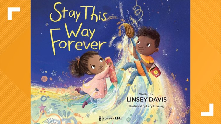 13 Reads: Linsey Davis releases 3rd children's book titled 'Stay this Way Forever'