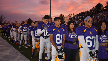 One Good Thing: Zeeland East's Purple Out/Tackle Cancer game