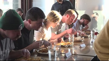 HopCat celebrates 12 years with annual fry eating contest