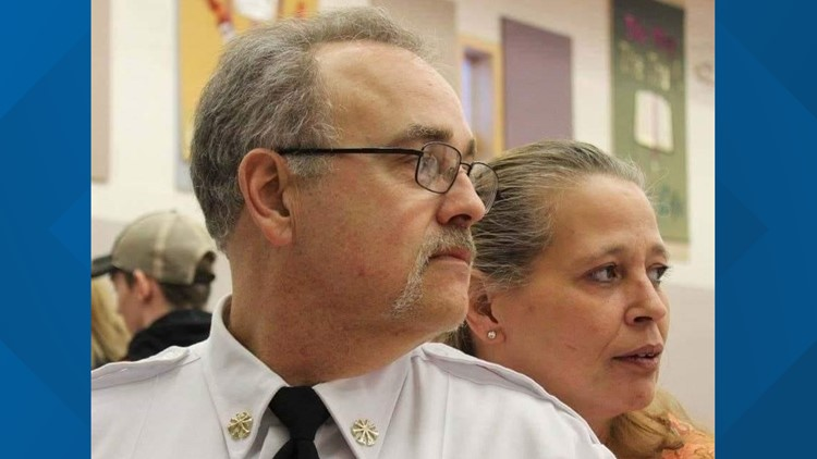 Holton Fire Chief dies following motorcycle crash, community holds vigil to  remember his legacy