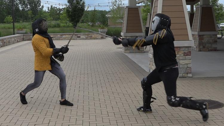 Medieval combat skills taught at Grand Rapids 'sword school'