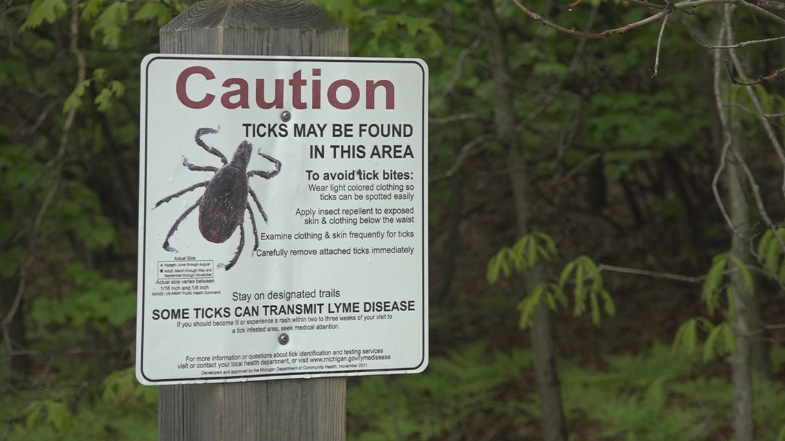 Michigan is experiencing an uptick in ticks