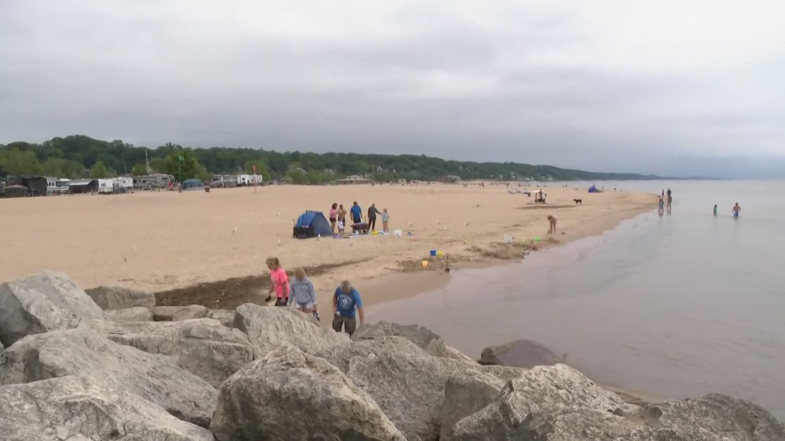 Close the beaches? DNR amendment could allow beaches to be shut down on red flag days