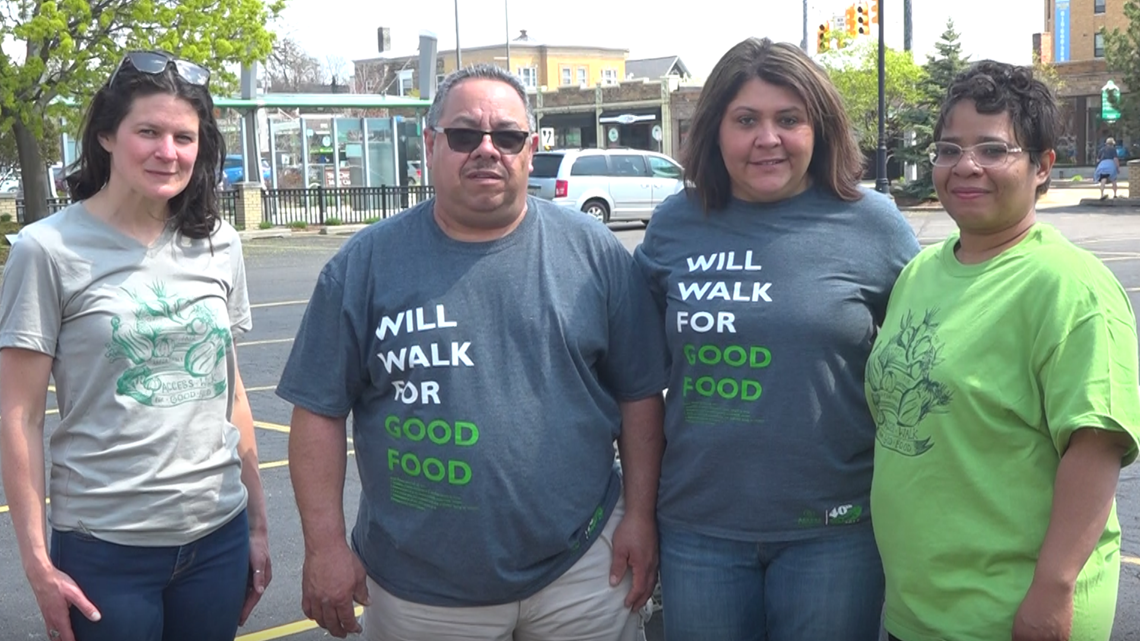 Walk For Good Food raises money to address food access issues, poverty