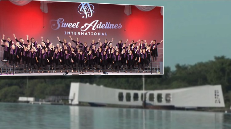 Grand Rapids' Sweet Adelines invited to perform at 80th Anniversary Pearl Harbor concert