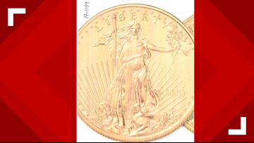 Couple steals 10k in gold coins from Portage store