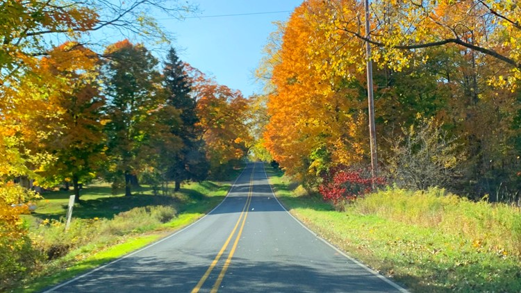 Kent County Road Commission's 2021 Fall Color Tour piques interest as 'peak' approaches