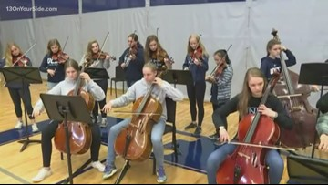 Sunrise Sidelines 2019: Keeping it modern in Unity Christian's orchestra