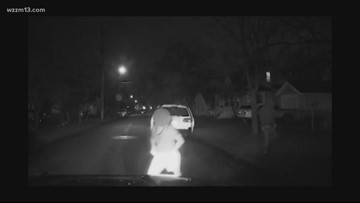 Grand Rapids Police release dash cam of teen taking cruiser