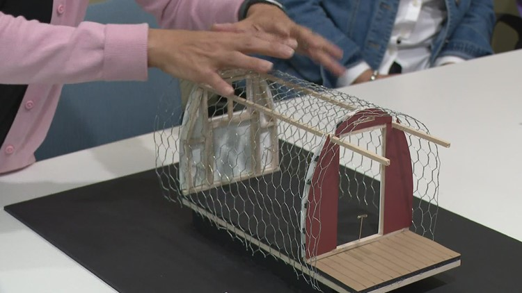 Ottawa County homeless huts