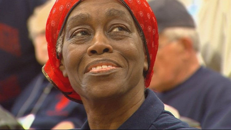 Qyla Williams was just a sophomore when Grand Rapids South High School closed in 1968. Even though she spent her final two years at Union High School, she always wanted to be a member of South's class of 1971, so she embroidered it on her sleeve.