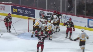 Grand Rapids Griffins beat Wolves in Game 3