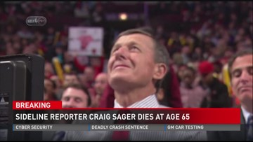 Craig Sager dies at 65