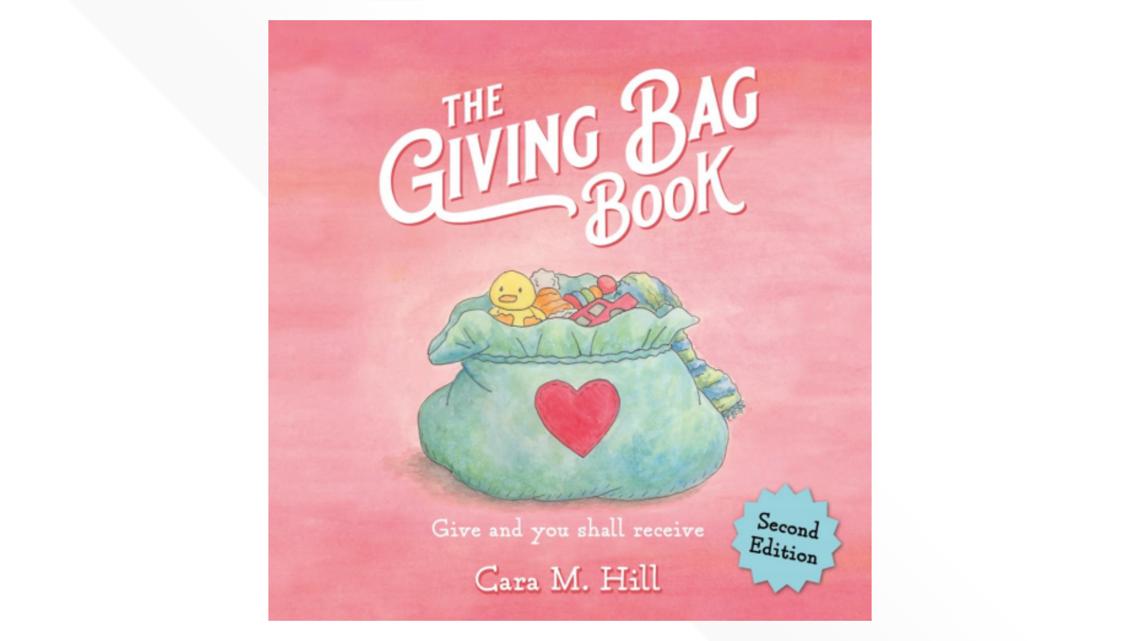 'The Giving Bag Book' | Kalamazoo woman writes children's book based on gratitude, kindness