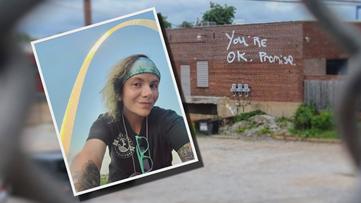 MENTAL HEALTH MISSION: Woman raising awareness with Michigan-to-California walk