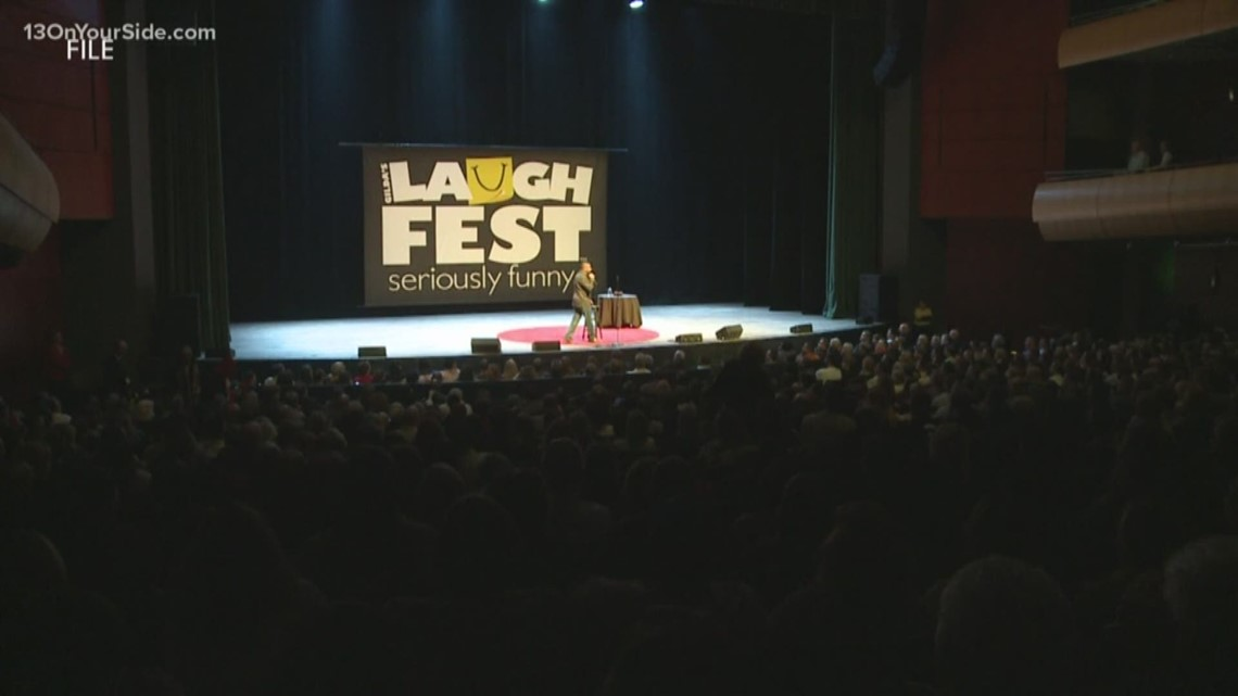 Here's a rundown of all the events still left in 2020 LaughFest