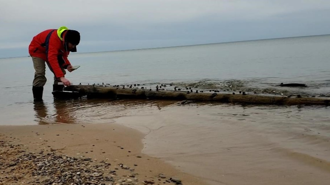 New shipwreck remains discovered in Ludington