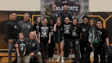 Breaking barriers: Forest Hills Central wins first girls' state wrestling title